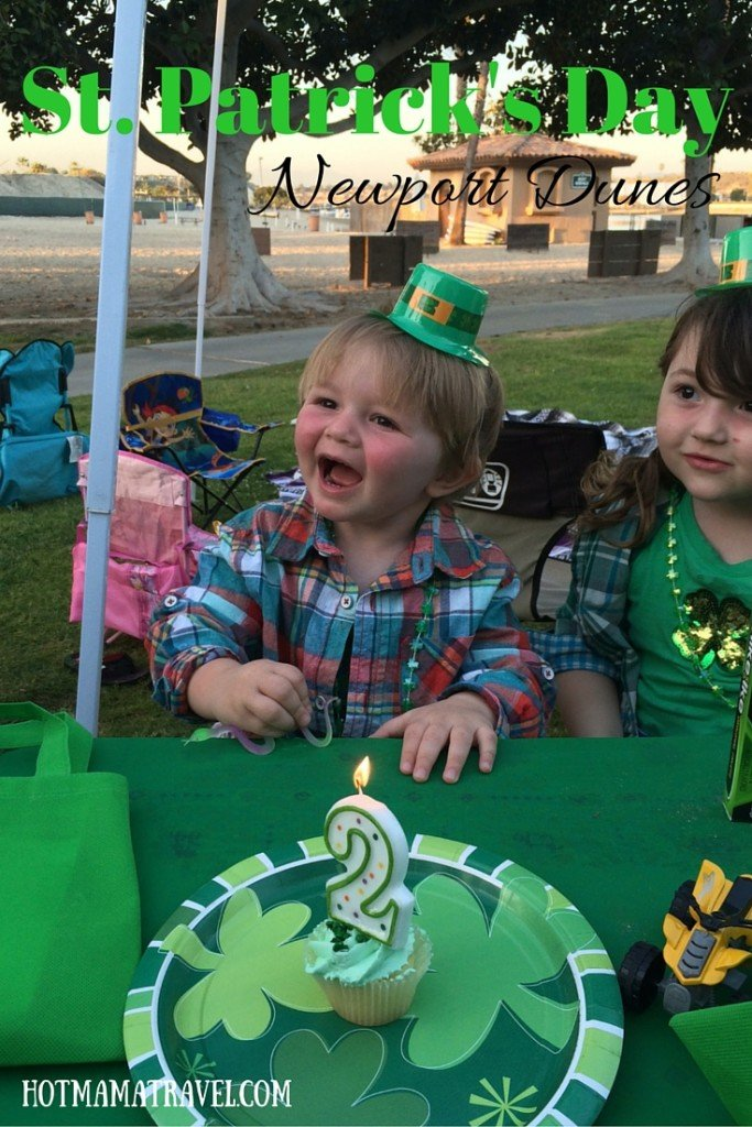 St. Patrick's Day at Newport Dunes