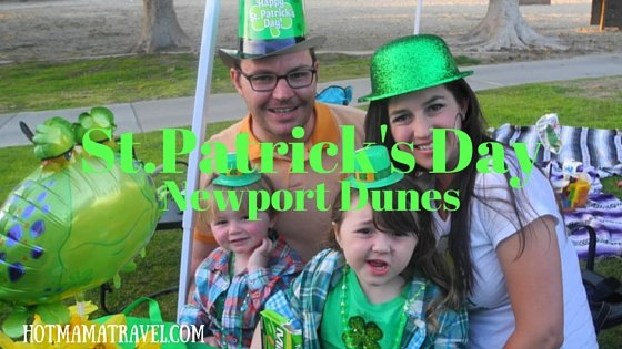 Why You Should Celebrate St. Patrick's Day at Newport Dunes