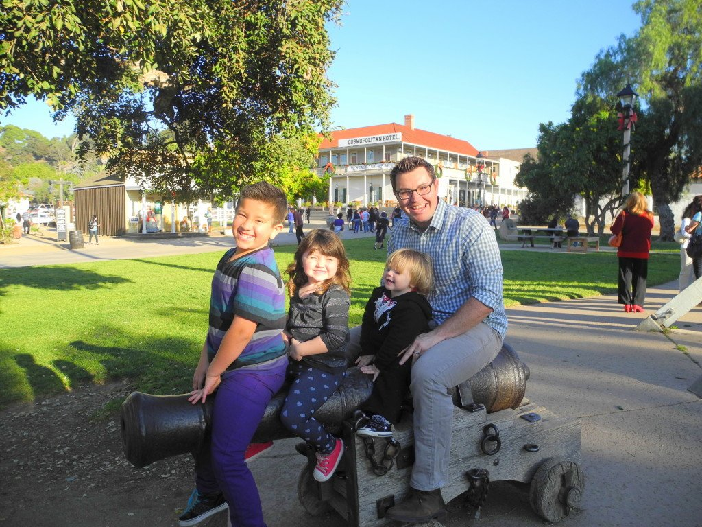 Old Town San Diego with kids