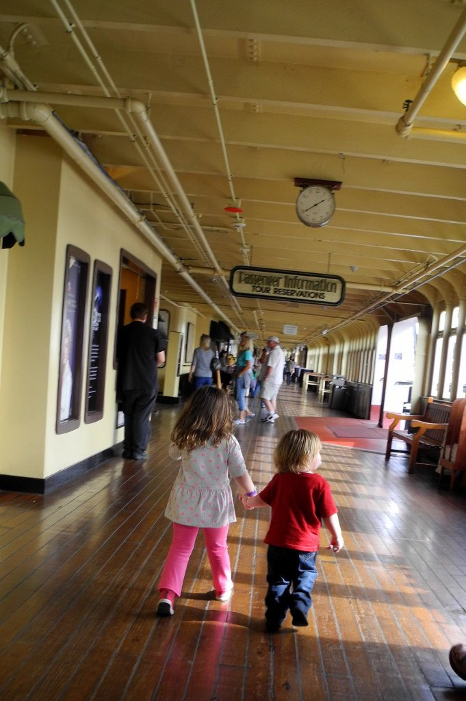 The Queen Mary with Kids