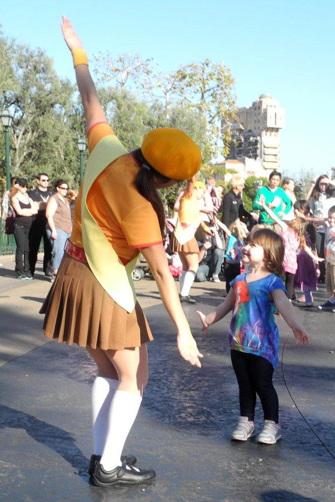 Disney California Adventure with kids