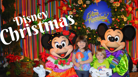 Celebrating a Disney Christmas with Kids