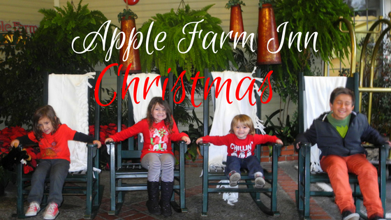 Checking for an Apple Farm Inn Christmas with Kids