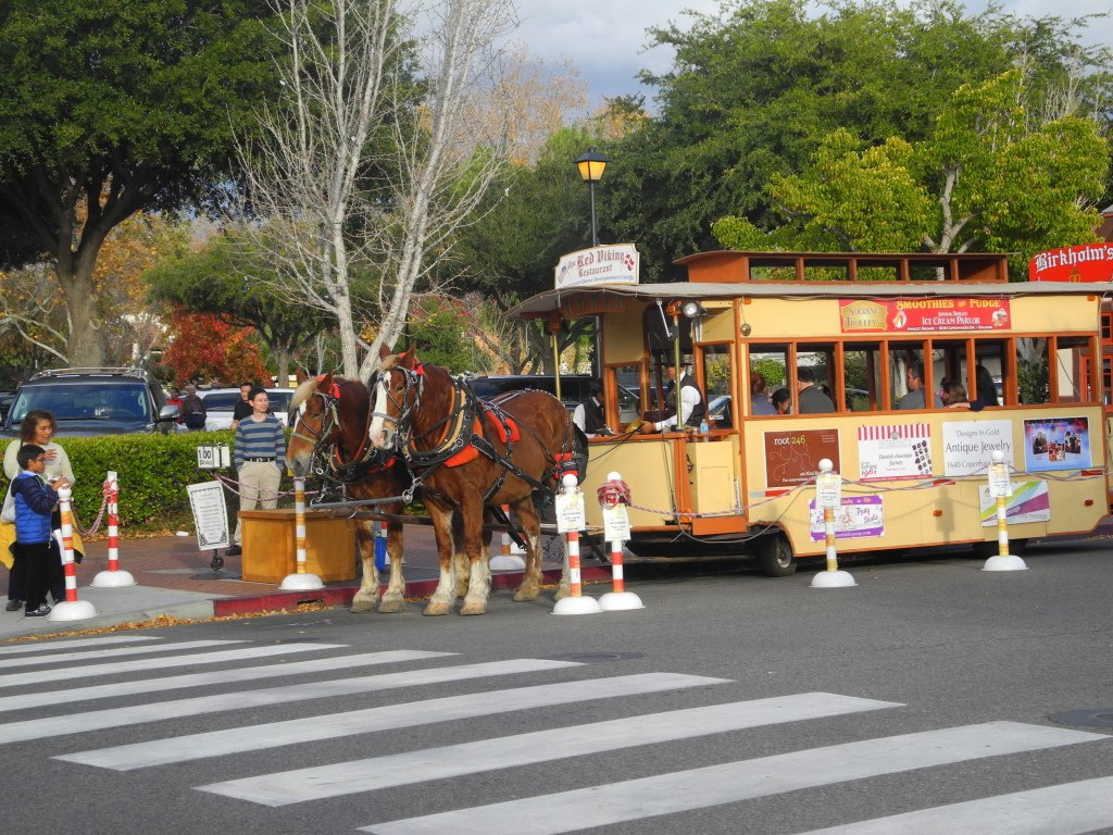 Solvang with kids