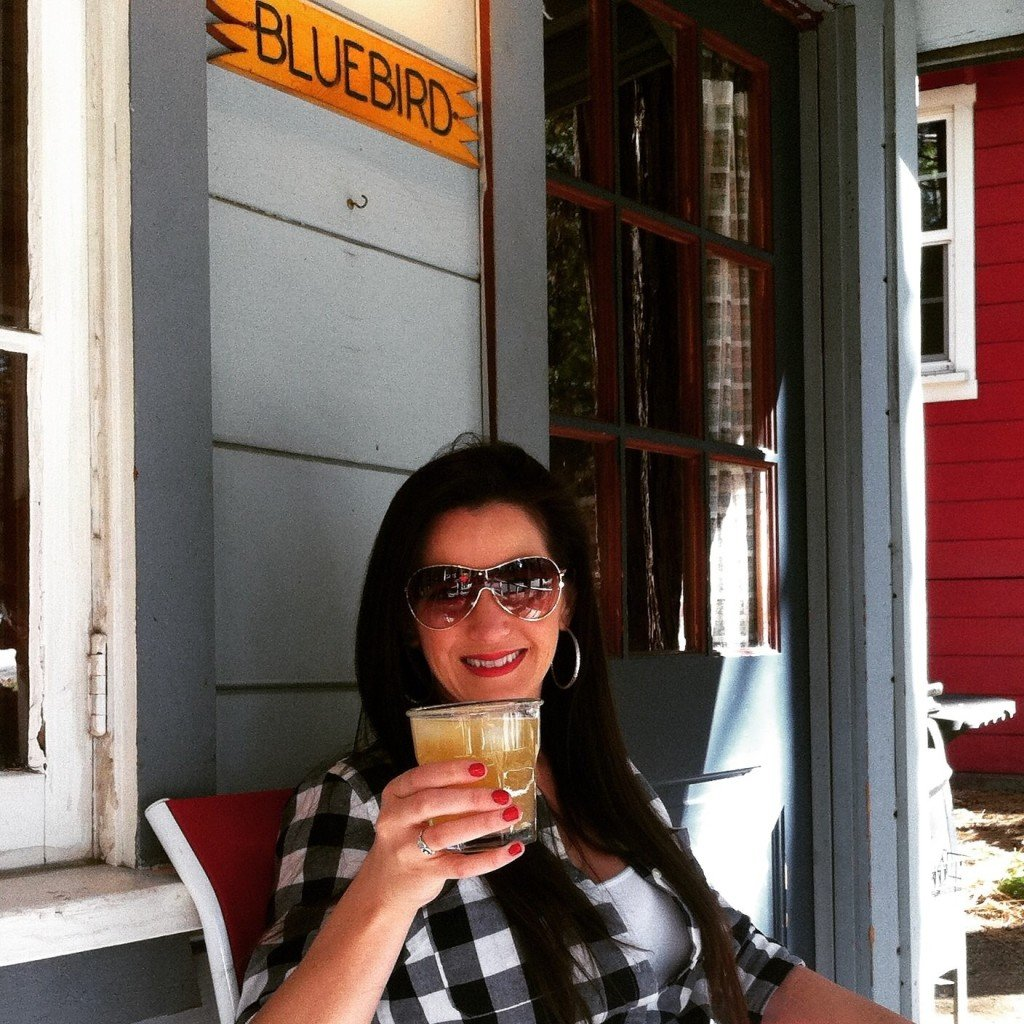 Gin Mule at the BlueBird Cabin, Idyllwild