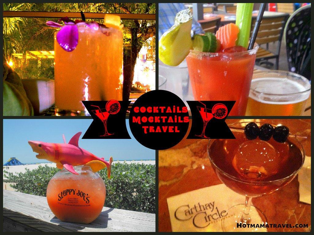 Cocktails, Mocktails & Travel!