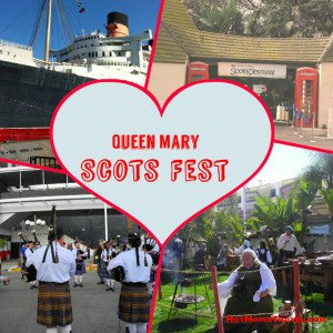 The Queen Mary Scots Festival with kids