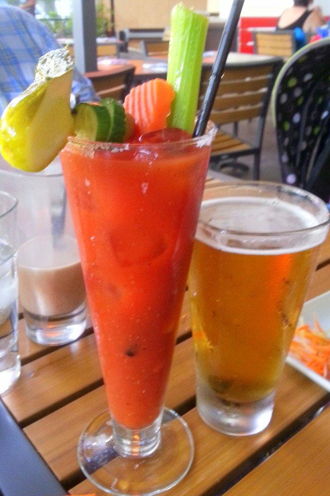 Guy Fieri's Vegas Kitchen Bloody Mary Bar