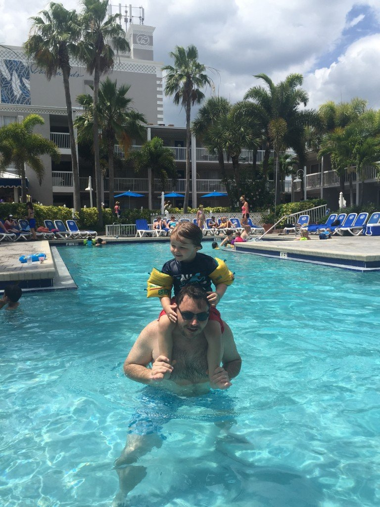 Pool at Tradewinds Resorts