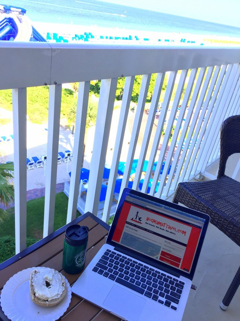 Working in St. Pete Beach at Tradewinds Resorts