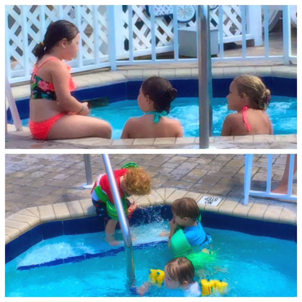 Making vacation friends at Tradewinds Island Grand