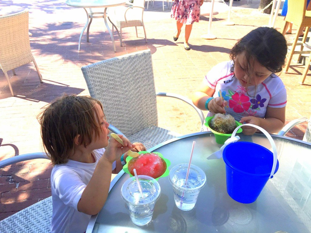 Snow Cones at Tradewinds Resort