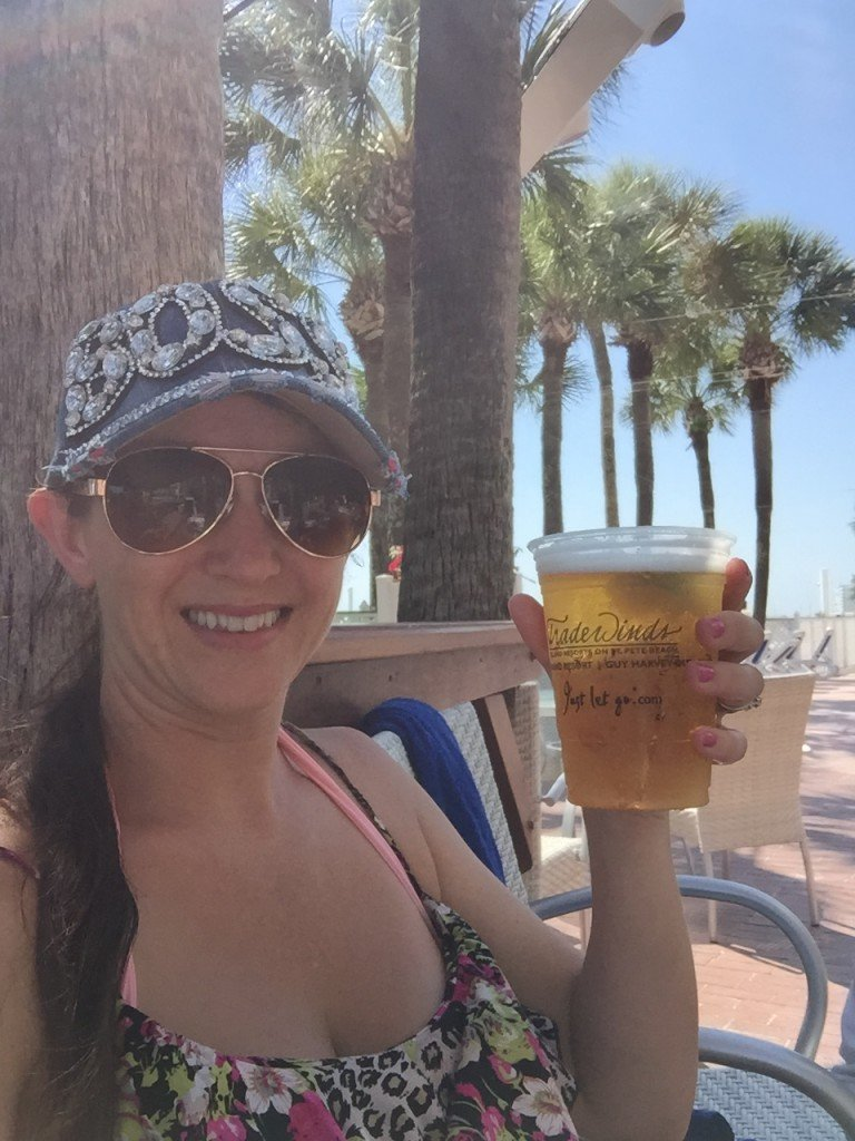 Beer at Salty's Tradewinds Resorts
