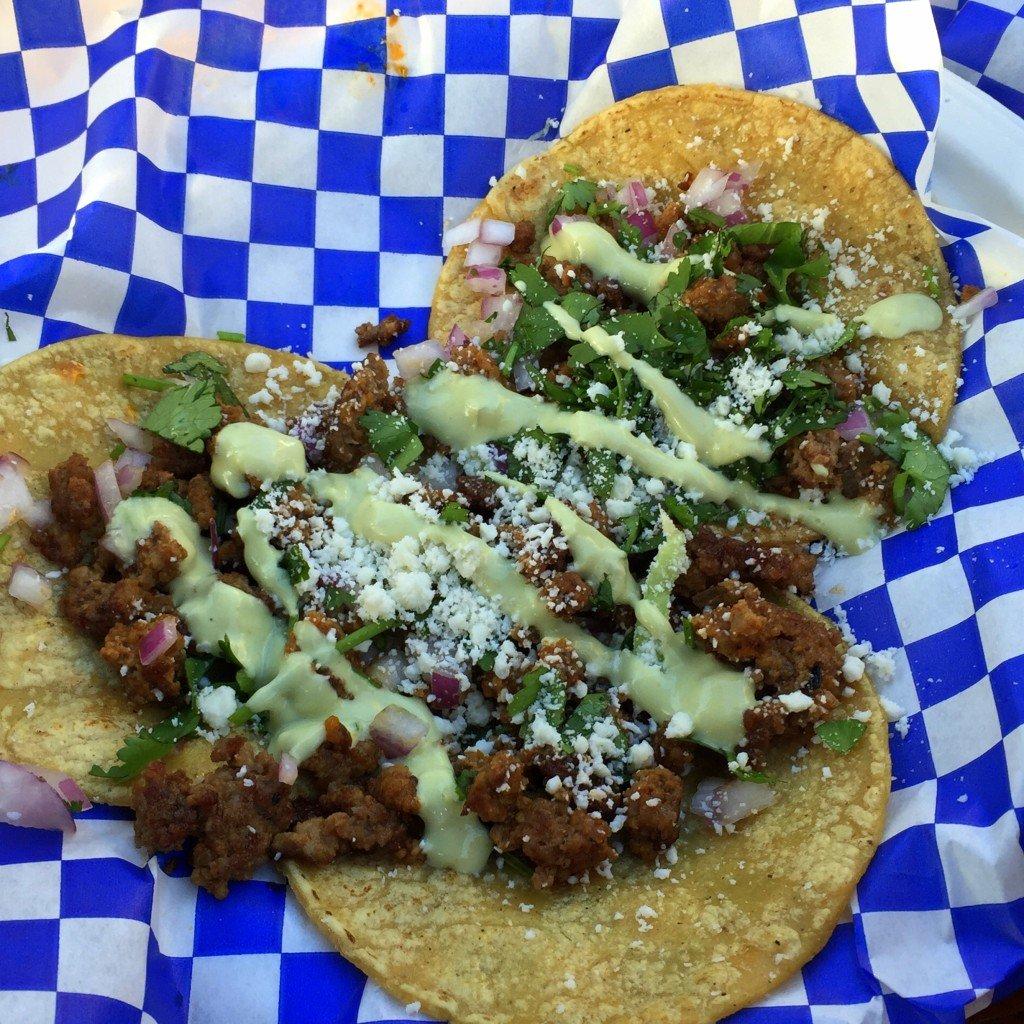 Spicey Street Tacos at Los Locos