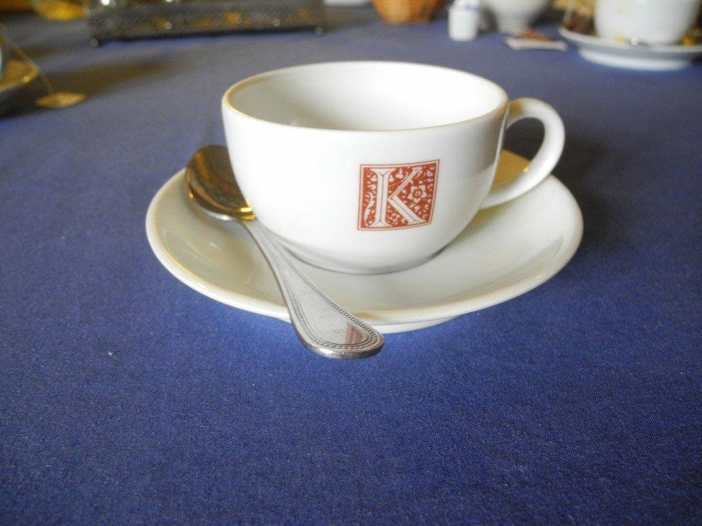 Tea time at the Kirklee Hotel