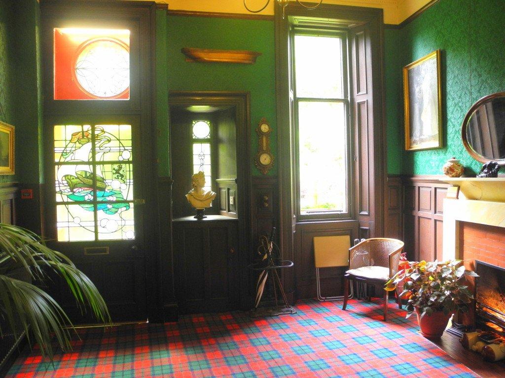 Lobby of Kirklee Hotel
