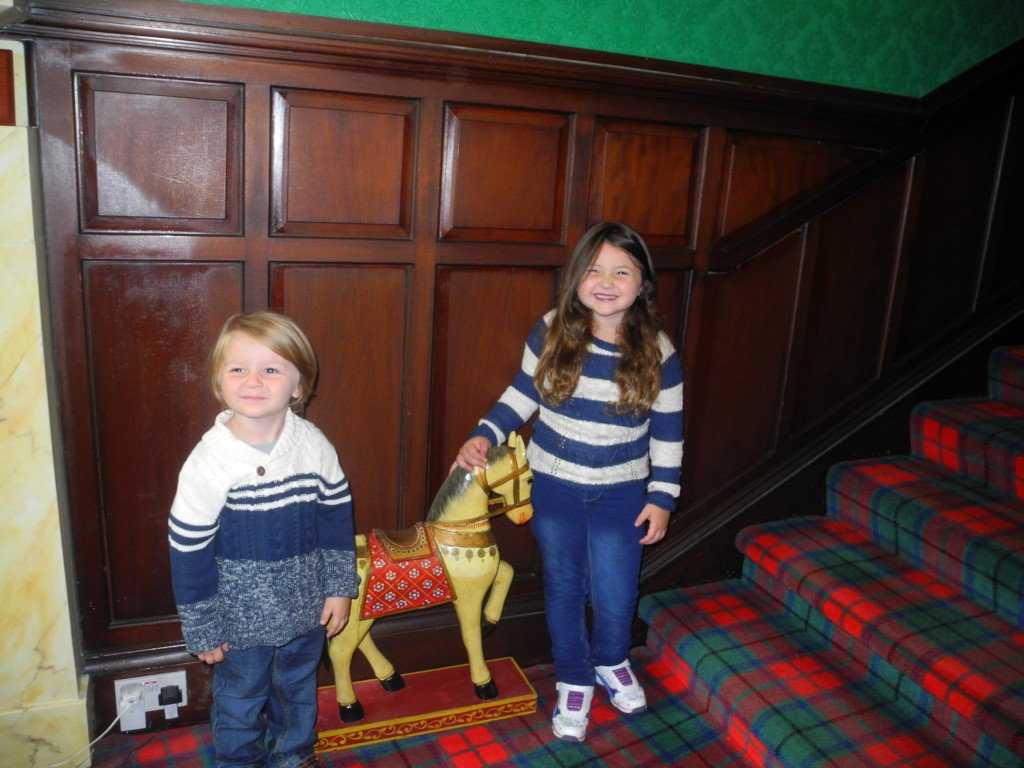 Lobby at Kirklee Hotel