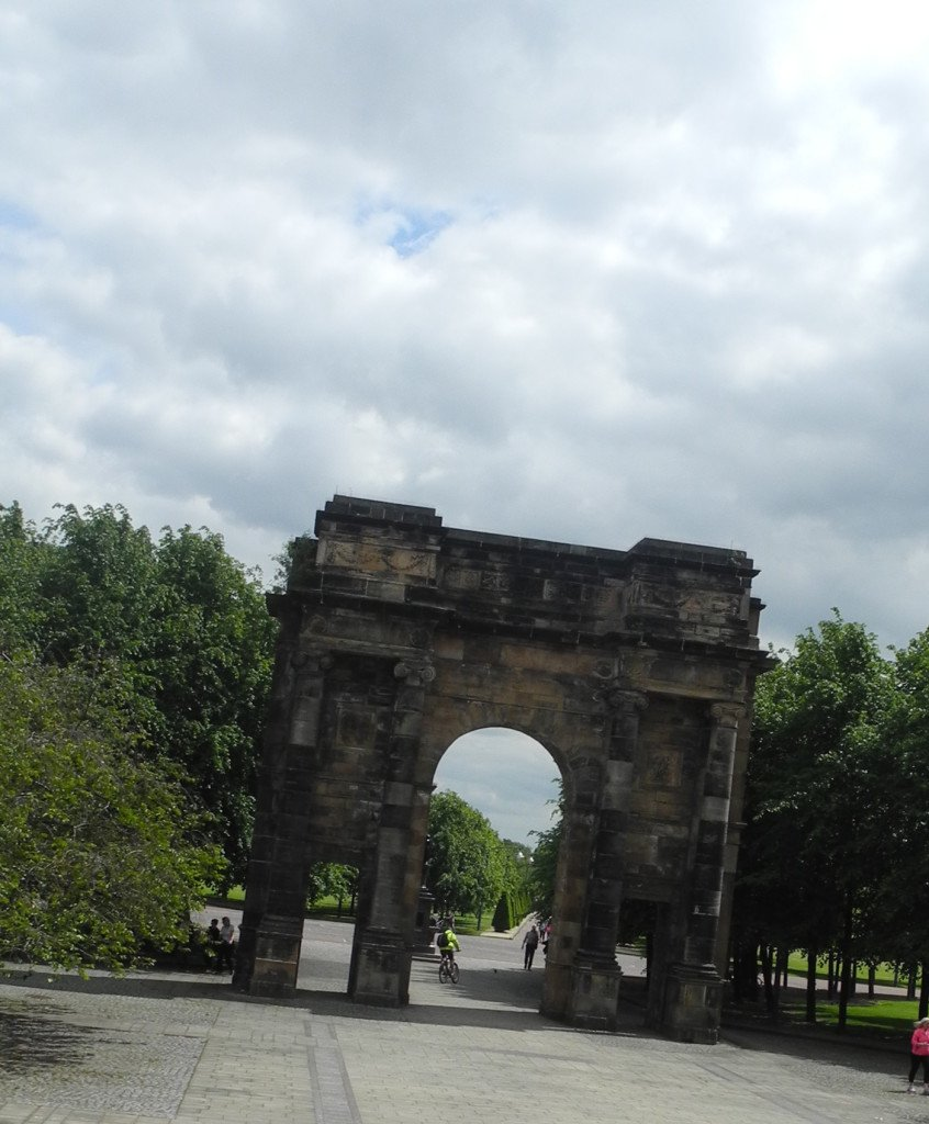 McLennan Arch at Glasgow Green