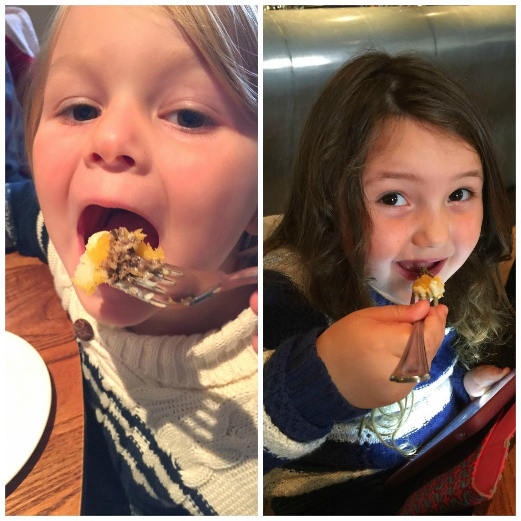 Eating Haggis