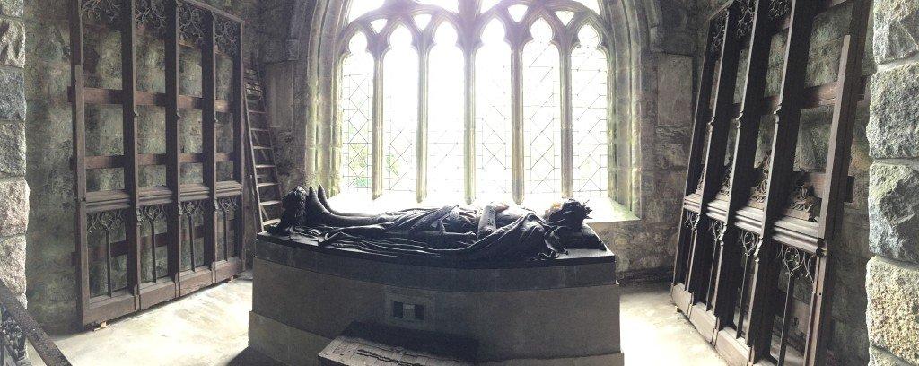 King Bruce at Bruce Chapel