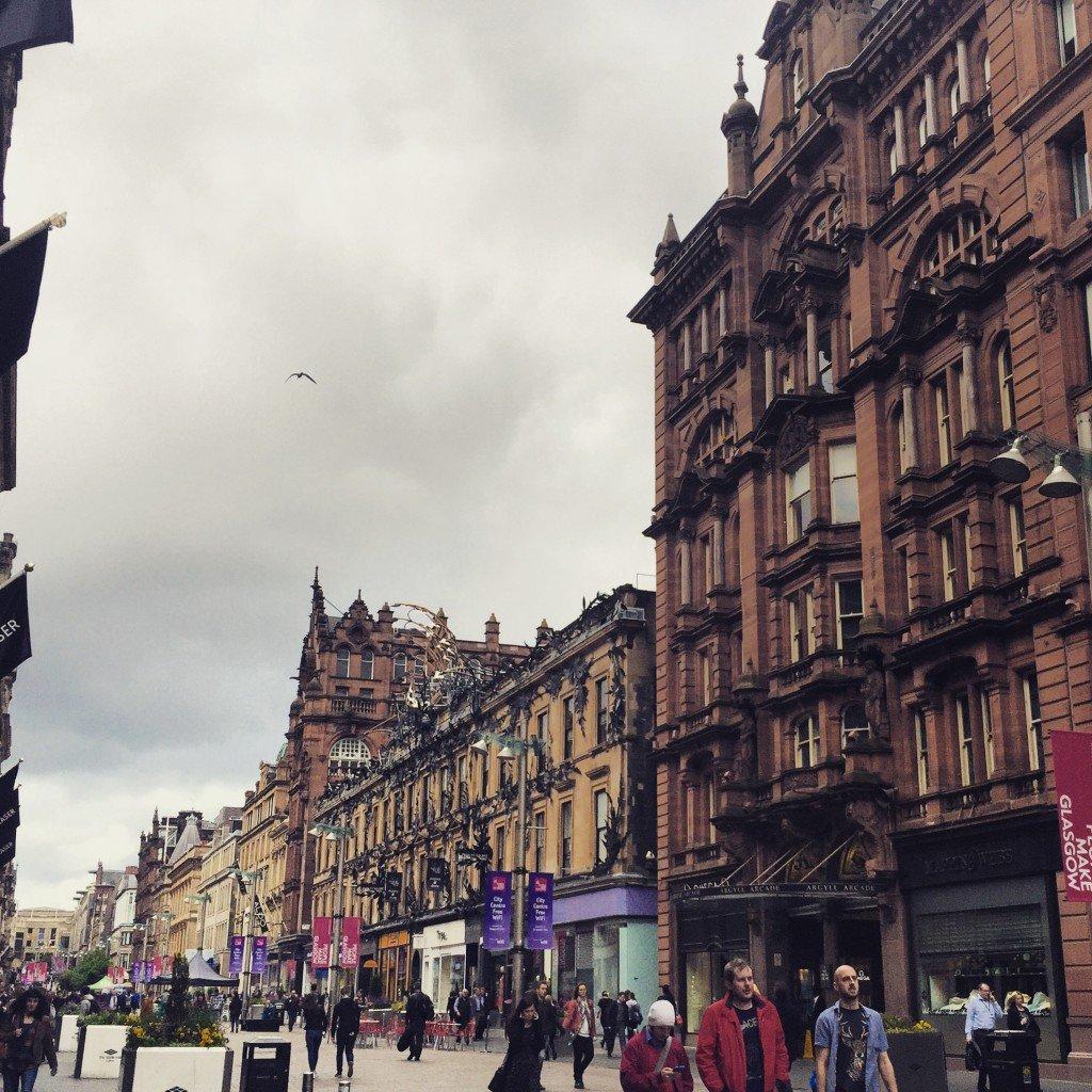 Dowtown Glasgow
