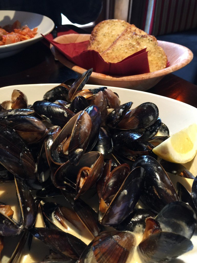Mussels at DiMaggios
