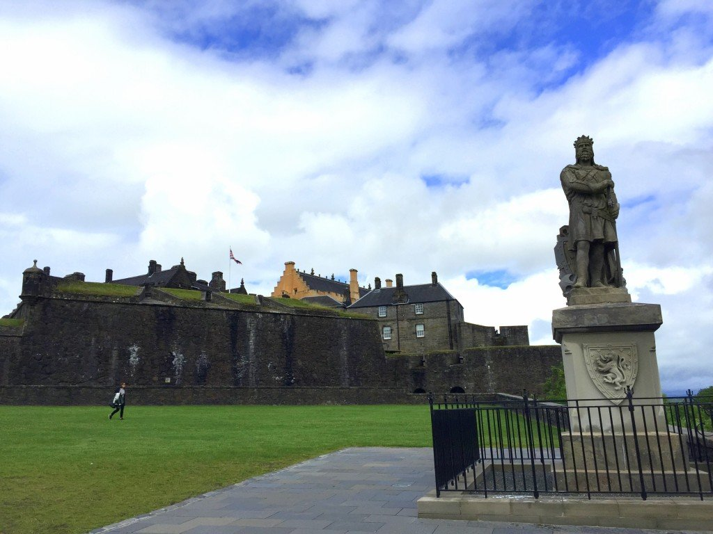 Visiting Stirling Castle