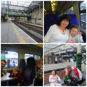 Scotrail with kids