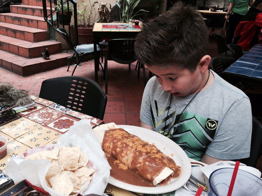 Big Burrito at the Riverwalk