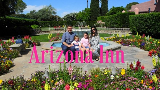 Drop Your Bags at Tucson's Arizona Inn with Kids
