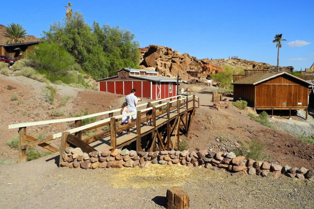 Calico Ghost Town with kids
