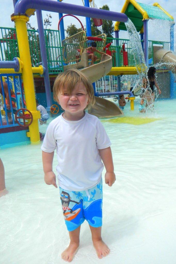 water parks with kids
