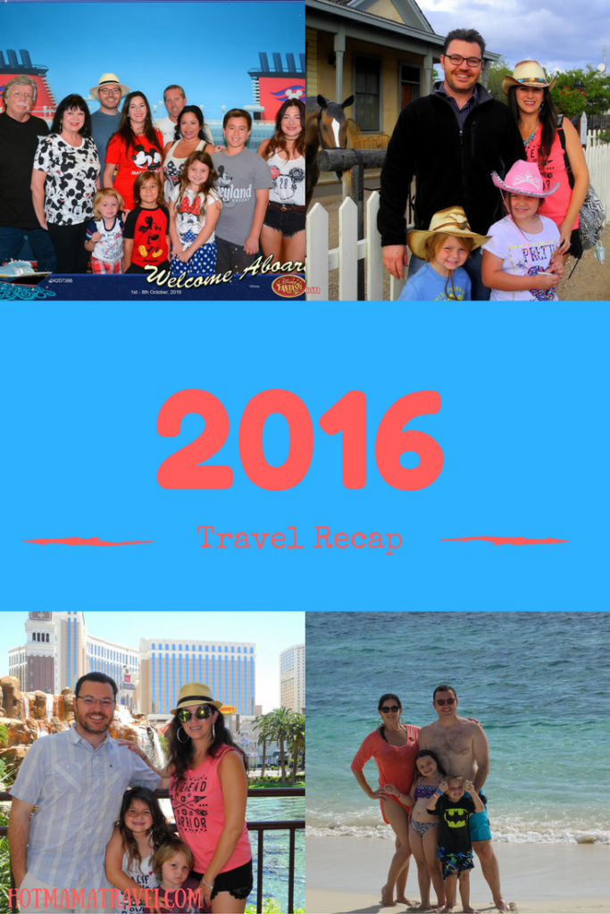 2016 Travel Recap