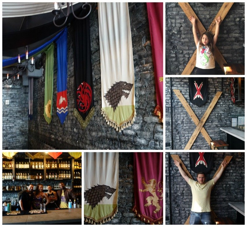 Game of Thrones Popup Bar with Kids