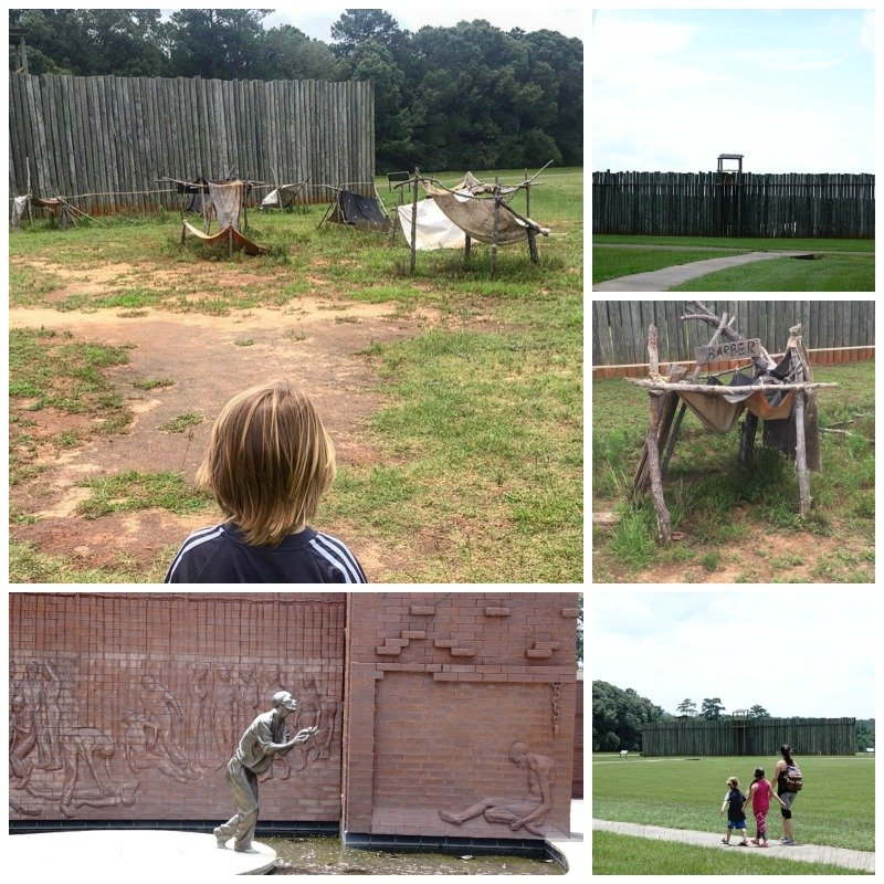 Camp Sumter Andersonville Prison Camp