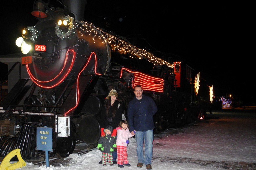 View of Polar Express Arizona Train