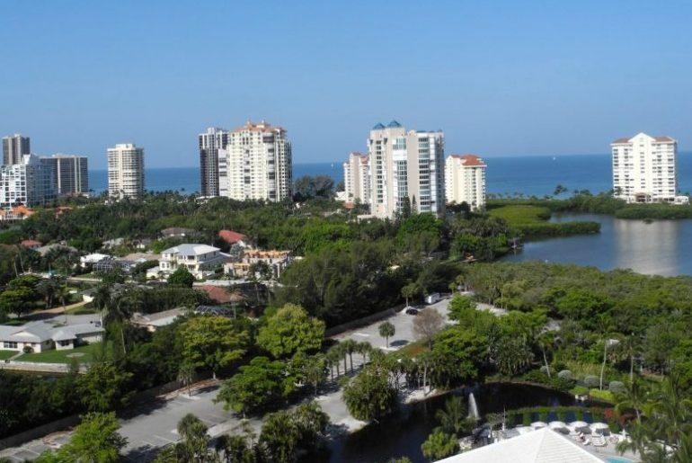 Naples Florida Aerial View