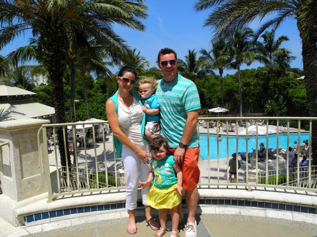 Family at Naples Grande in Florida