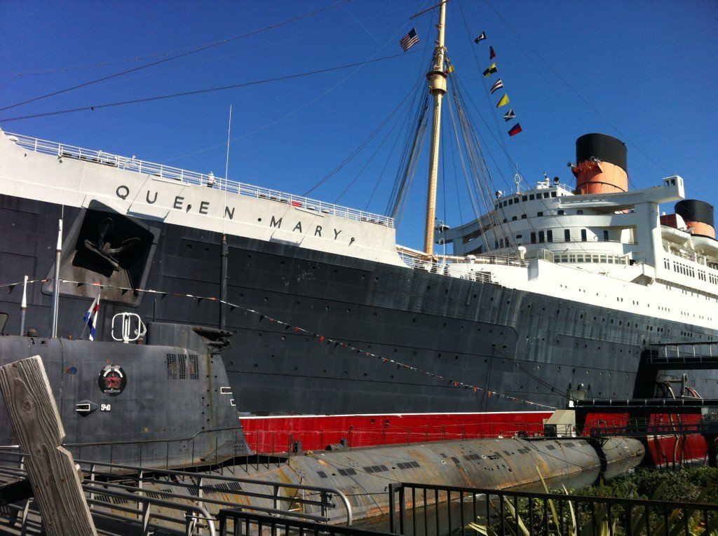queen mary long beach ship