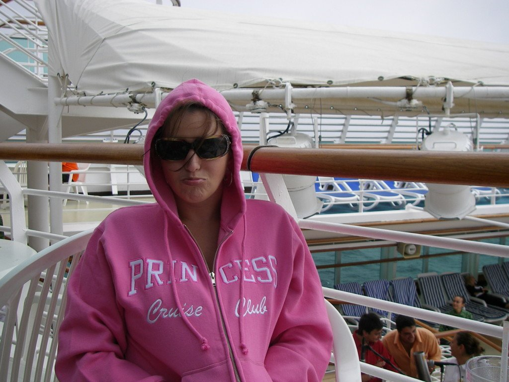 Me sad that my cruise is over.