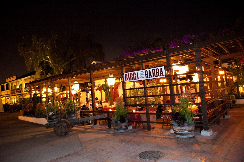 barra barra saloon in old town san diego