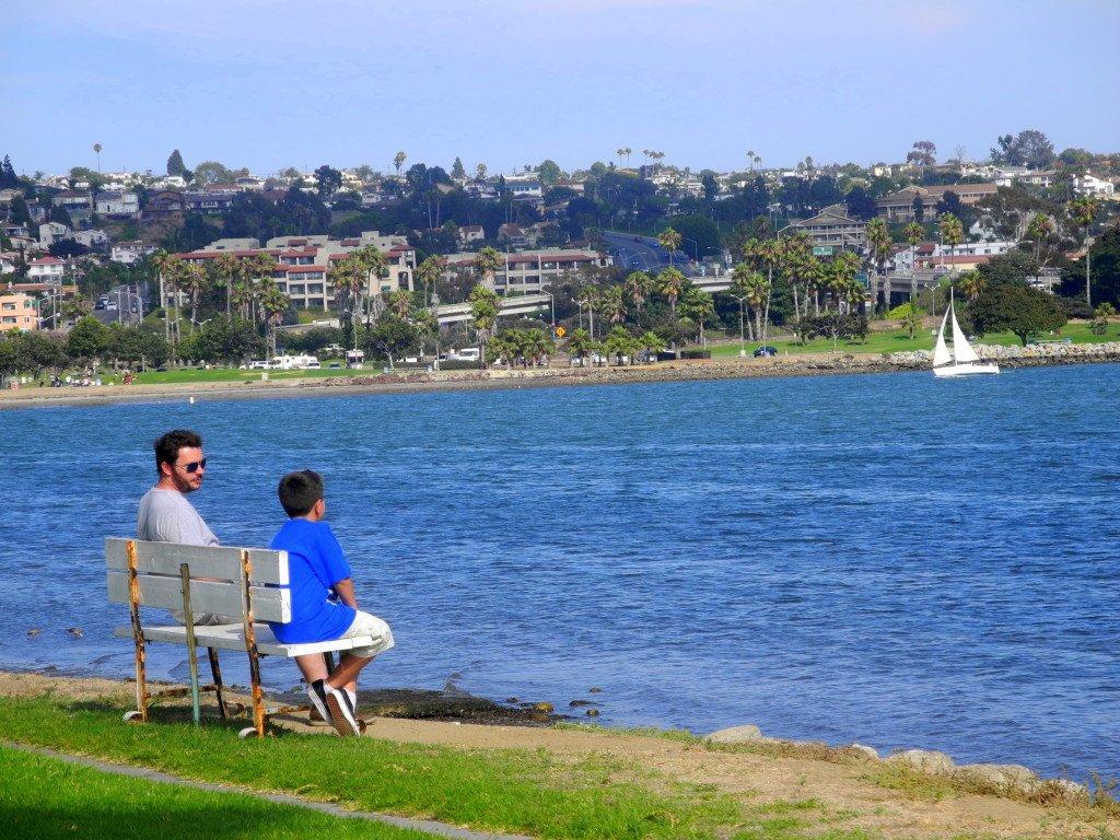 Mission Bay San Diego with kids