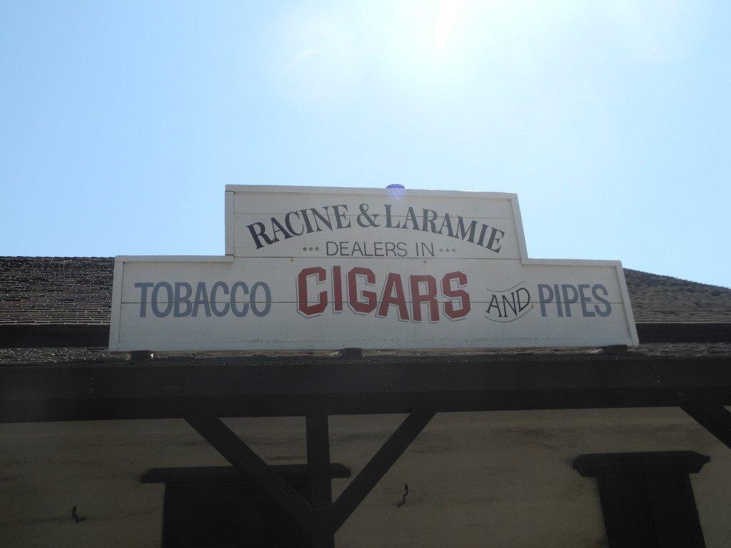 Old Town San Diego Cigar shop