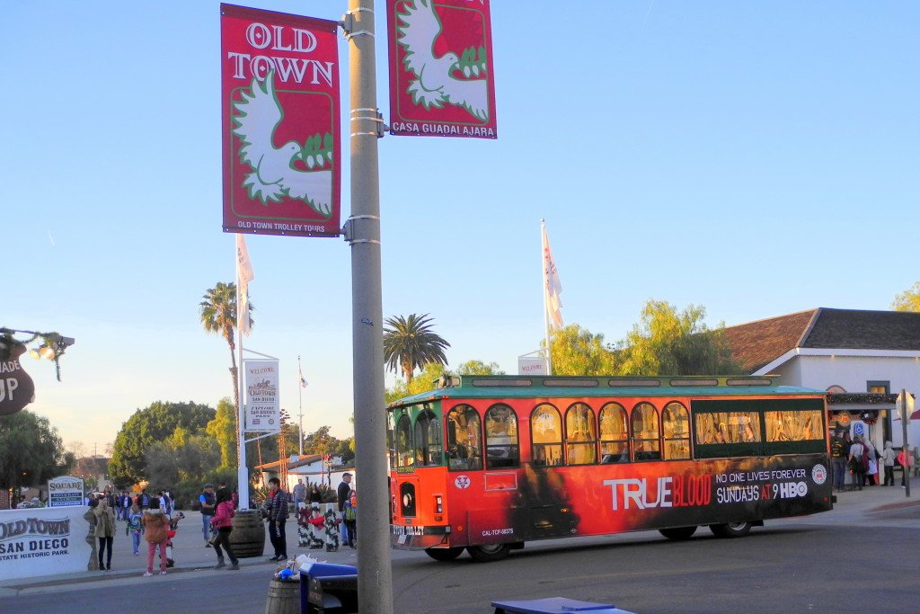 Old Town San Diego Trolley Tour