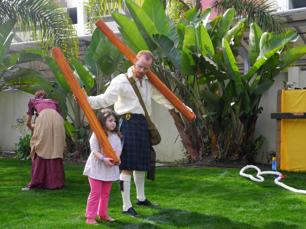 Queen Mary Scottish Festival with Kids