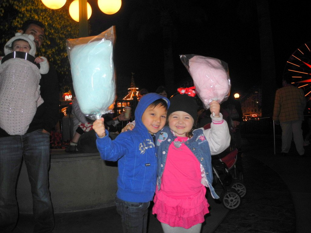 Disney California Adventure with kids