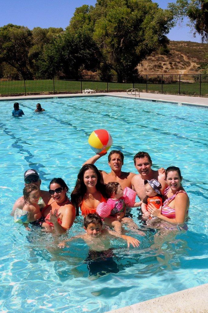 Vail Lake Resort family fun in pool