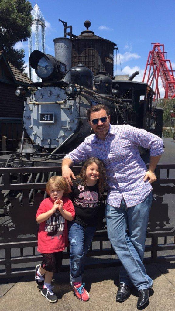 Knott's Berry Farm with Kids near Calico Train