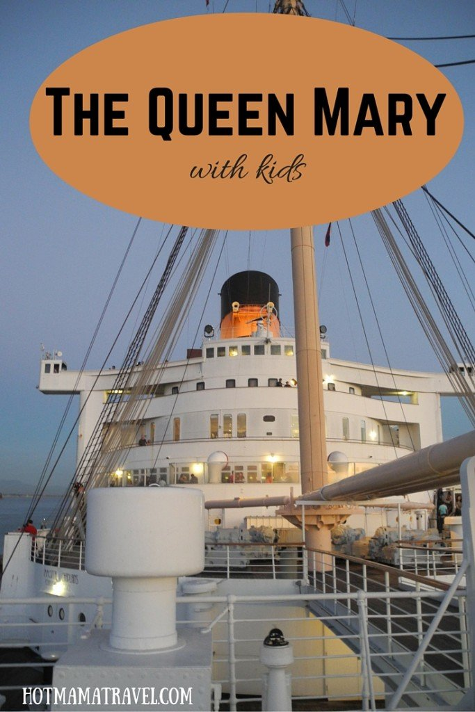 Vising Queen Mary Long Beach with kids