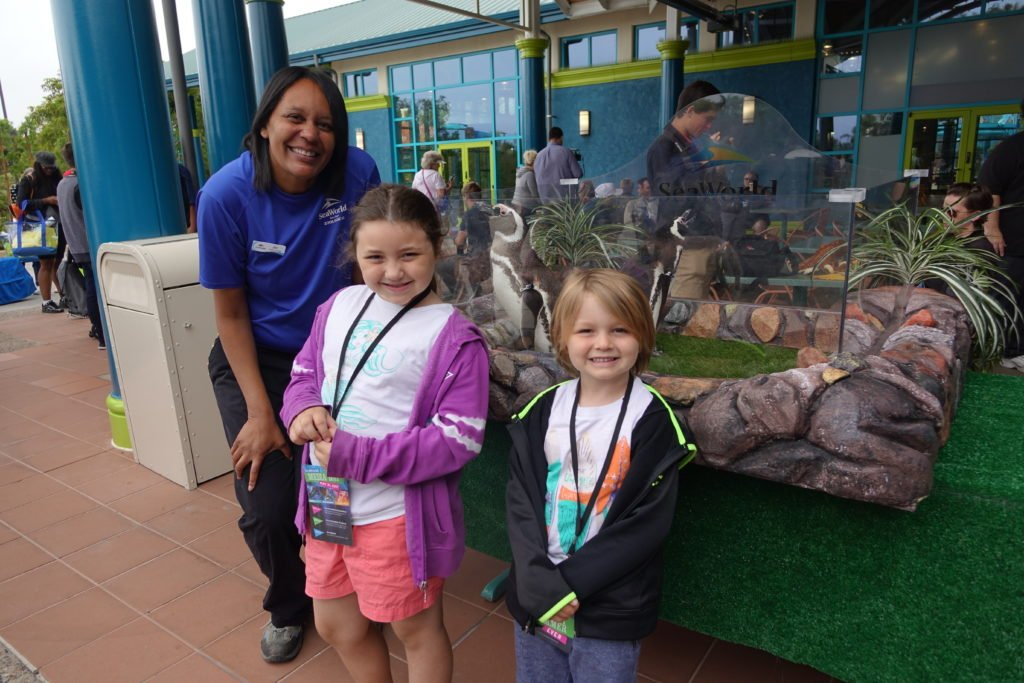 SeaWorld San Diego kid fun